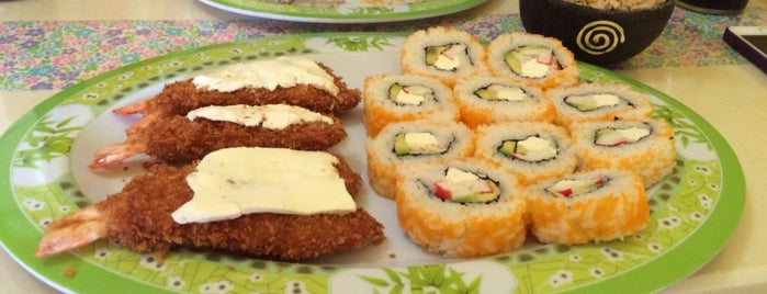 Fukushima sushi is one of Kenji : понравившиеся места.