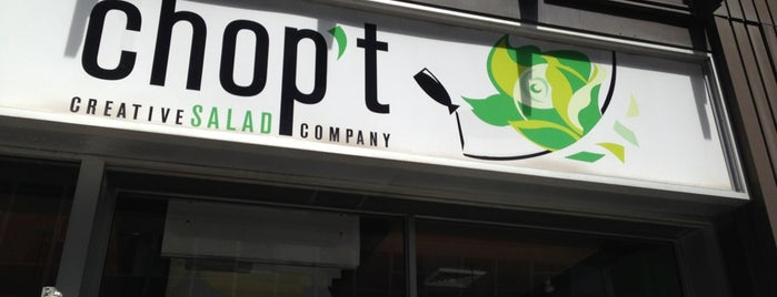 CHOPT is one of NYC Food & Drinks.