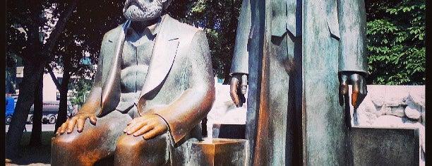 Marx-Engels-Forum is one of Berlin Moderna.