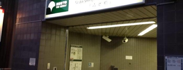 Nishi-shinjuku-gochome Station (E29) is one of faenza.
