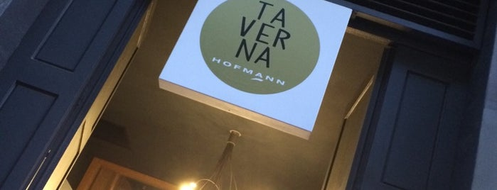 La Taverna Hofmann is one of Lieux qui ont plu à jordi.