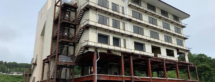 たろう観光ホテル (津波遺構) is one of Ishka : понравившиеся места.
