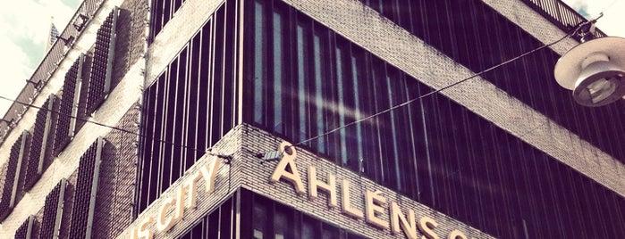 Åhléns City is one of Stockholm.
