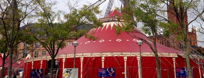 European Youth Circus is one of Veranstaltungen in Wiesbaden.
