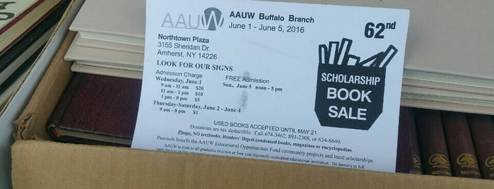 AAUW Book Sale is one of Places.