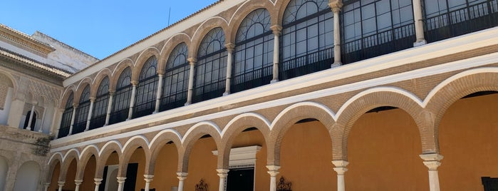 Patio del Leon is one of Seville 🇪🇸.
