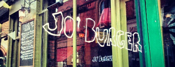 Jo'Burger is one of MY DUBLIN.