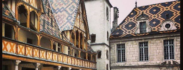 Hôtel-Dieu Hospices de Beaune is one of Burgundy.
