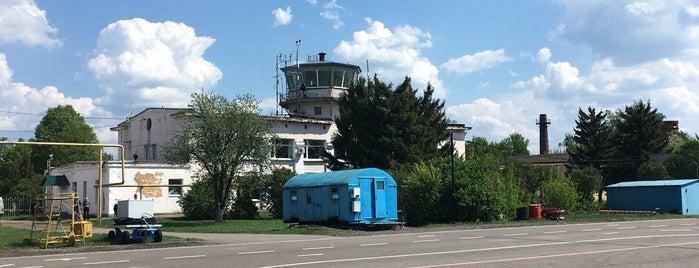 Tambov Airport (TBW) is one of Екатерина'ın Beğendiği Mekanlar.