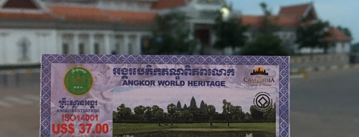 Angkor Wat Ticket Booth is one of Siem Reap.