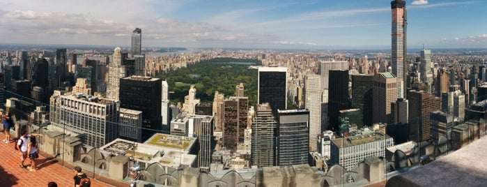 Top of the Rock Observation Deck is one of The New Yorkers: Extracurriculars.