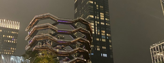 Vessel is one of Tourist attractions NYC.