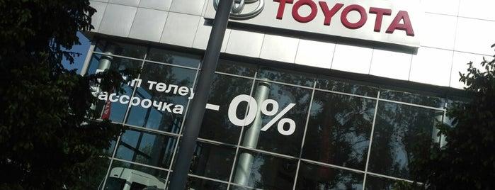 Toyota Центр Алматы is one of Aigerim 님이 좋아한 장소.