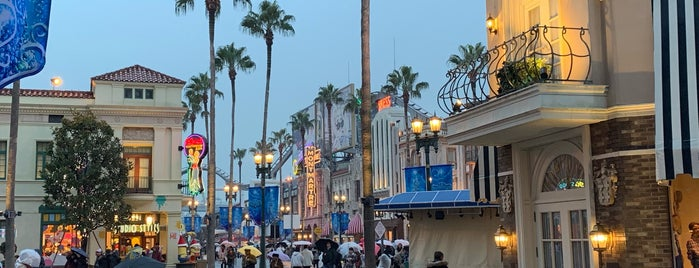 Hollywood Area is one of Universal Studios Japan.