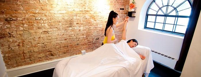 Jake austin gets amazing massage