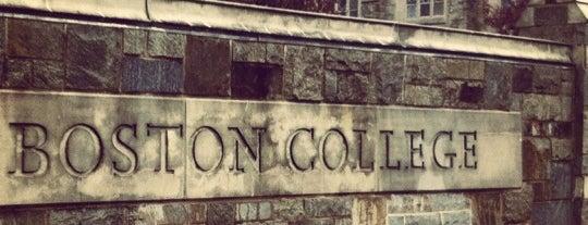 ボストンカレッジ is one of Boston ☆.