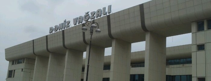 Dəniz Vağzalı / Baku Seaport is one of visited int..