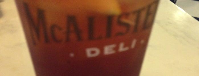 McAlister's Deli is one of Cinci Work Food.