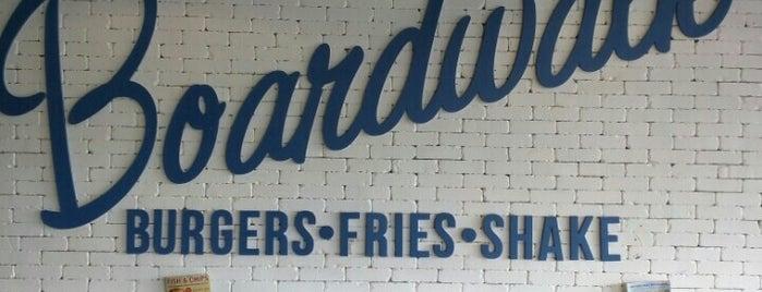 Boardwalk Fresh Burgers & Fries is one of Brews, Burgers, etc.