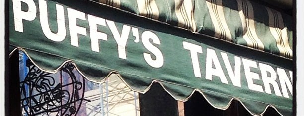 Puffy's Tavern is one of Lower Manhattan.