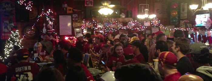 Joxer Daly's is one of National Redskins Rally Bars.