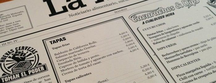 La Musa is one of Madrid: Restaurantes +.