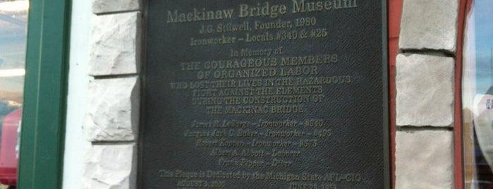 Mackinaw Bridge Museum is one of Orte, die Dave gefallen.
