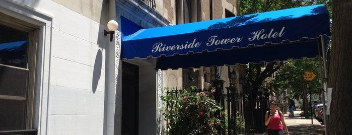 Riverside Tower Hotel is one of Locais curtidos por Harvee.