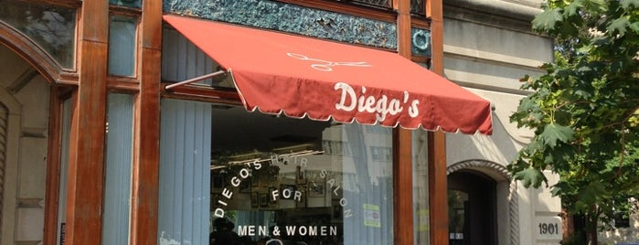 Diego's Hair Salon is one of DC Bucket List 2.