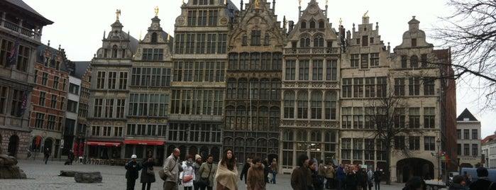 Antwerpen is one of David : понравившиеся места.