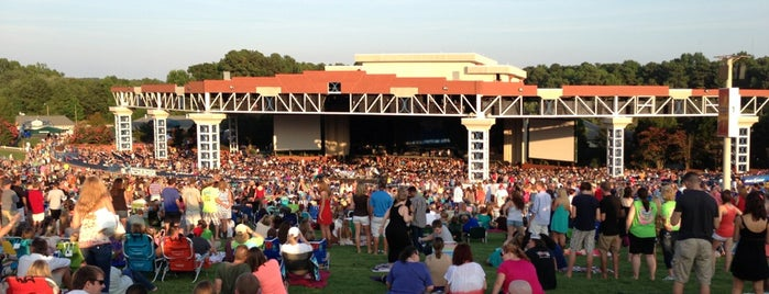 Coastal Credit Union Music Park at Walnut Creek is one of Cool Music Venues.