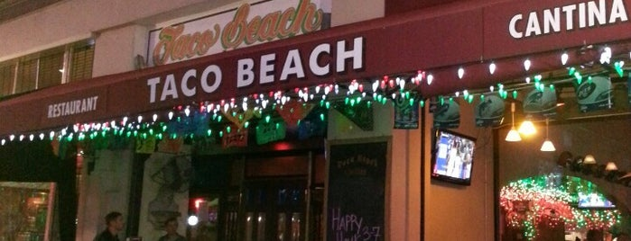 Taco Beach - Pine Ave. is one of David & Dana's LA BAR & EATS!.
