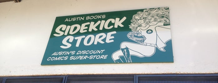 Austin Books Sidekick Store is one of Austin.