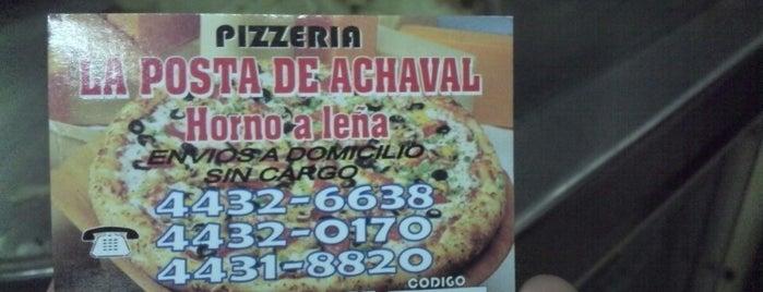 La Posta de Achával is one of my places.