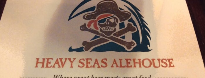 Heavy Seas Alehouse is one of Tempat yang Disukai David.