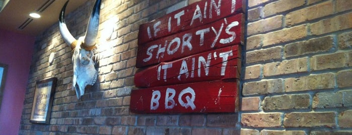 Shorty's BBQ is one of Gespeicherte Orte von Frieda.