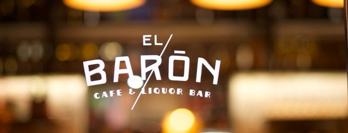 EL BARÓN - Café & Liquor Bar is one of Locais salvos de Stone.