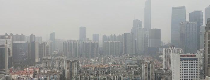辉盛阁国际公寓 Fraser Suites Guangzhou is one of สถานที่ที่ Winda ถูกใจ.