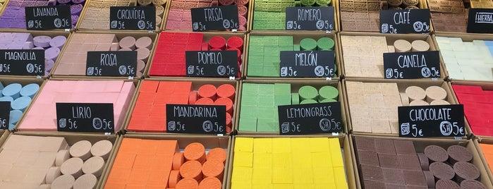 Sabater Hnos. de fabrica jabones is one of Lugares favoritos de Maria Relea.