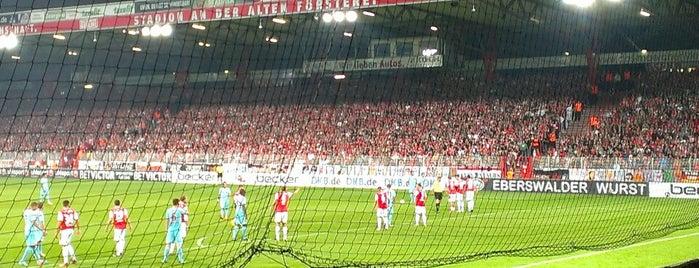 Stadion An der Alten Försterei is one of Part 1~International Sporting Venues....
