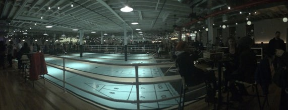 The Royal Palms Shuffleboard Club is one of NYC.