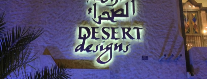 Desert Designs is one of KSA.