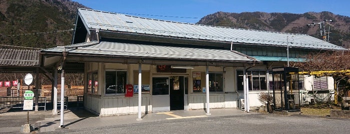 Nojiri Station is one of 中央線(名古屋口).