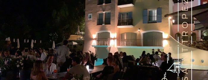 B. At Byblos Hotel is one of Best of St Tropez.