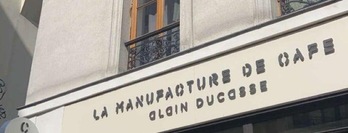 Le Café Alain Ducasse, Manufacture à Paris is one of Paris.