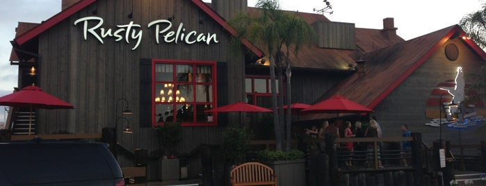 The Rusty Pelican is one of Old Los Angeles Restaurants Part 2.