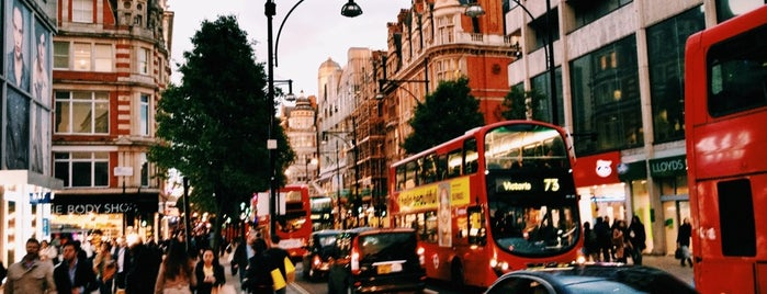 Oxford Street is one of London, For Unforgettable visit ♥️.