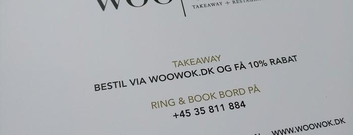 woo wok is one of Copenhagen.