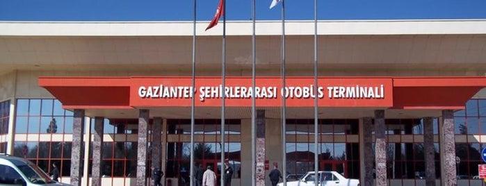 Gaziantep Şehirler Arası Otobüs Terminali is one of KARAKARTAL'ın Beğendiği Mekanlar.