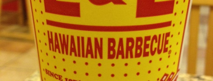 L&L Hawaiian Barbecue is one of Lugares favoritos de Ian.
